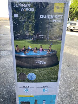 Swimming Pool 16ft Summer Waves for Sale in Riverside, CA