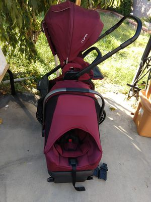 Stroller nuna Mixx2 with car seat for Sale in Riverside, CA