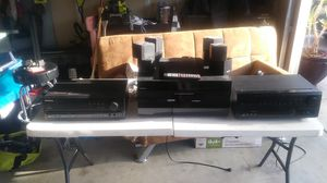 To Pioneer receivers and one Covelli receiver with remote and speakers for Sale in Oakdale, CA