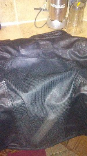Bilt leather motorcycle jacket for Sale in Central, LA