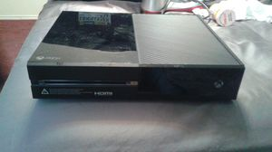 Xbox one. With all cords. And kinect NO CONTROLLER. for Sale in Irving, TX