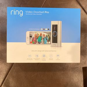 Ring Pro Video Doorbell Like New for Sale in Chicago, IL