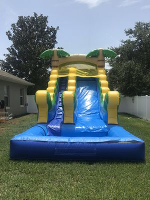Tropical Water Slide for Sale in FL, US