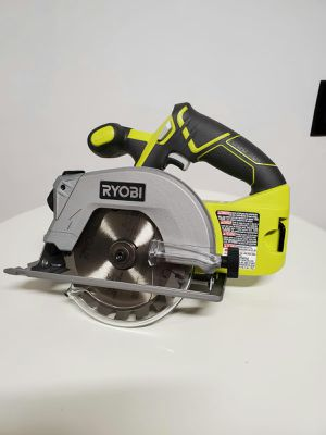 "new ryobi circular saw 18v 5 1/2"" with laser for Sale in Garden Grove, CA"