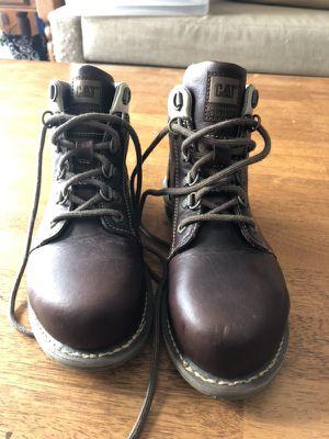 Women's Caterpillar Steel Toe Boots for Sale in Burbank, CA