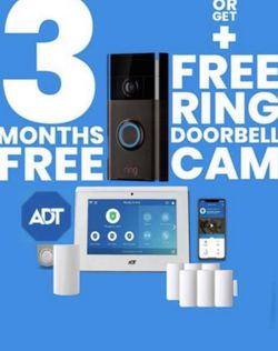 ADT ALARM MONITORING SURVEILLANCE CAMERAS BEATS VIVINT BRINKS AND RING for Sale in Riverside,  CA