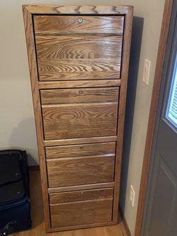 Solid Oak File Cabinet for Sale in Selah,  WA