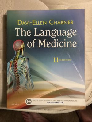 The Language of Medicine 11th Edition for Sale in Jacksonville, NC