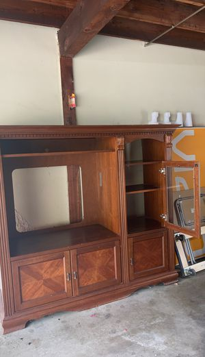 """Tv and storage for sale fits 45"""" tv for Sale in Burbank, CA"""