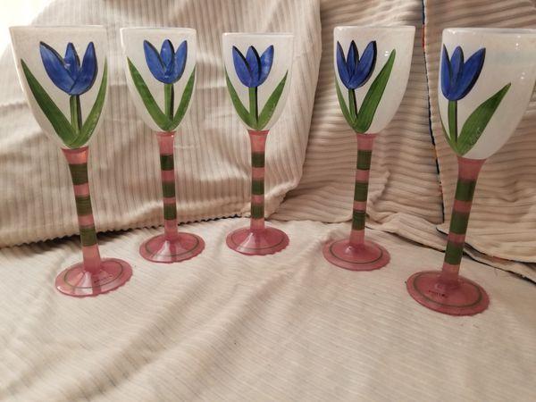 Kosta Boda Wine Glasses