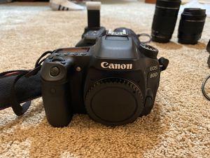 Canon 80D for Sale in Deltona, FL
