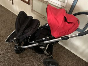 Baby jogger city select.. double stroller for Sale in Tempe, AZ