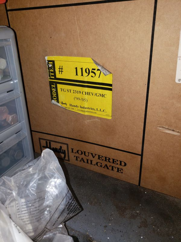 99-07 chevy/gmc classic louvered tailgate for Sale in Youngtown, AZ -  OfferUp