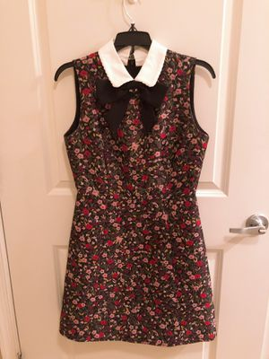 Kate spade embroidery floral dress size 4 for Sale in Alexandria, VA