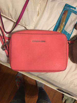 Michael Kors Pink Square Shoulder Handbag for Sale in Silver Spring, MD