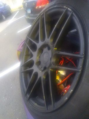 (4) Tires and Rims nice very nice for Sale in Ansonia, CT