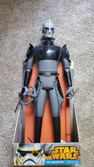Star Wars Rebels The Inquisitor 31 inch tall action figure for Sale in Batavia, OH