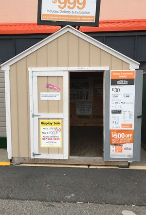 Sheds USA 8x10 Value Plus Shed Display for sale Jericho NY for Sale in Queens, NY