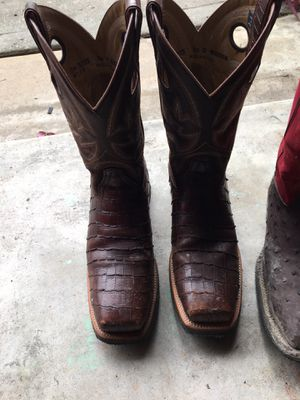 Double H / Work Boots Steel Toe for Sale in Spring, TX