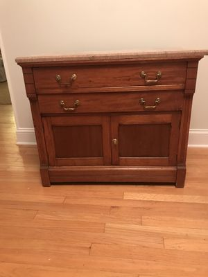 Antique wash basin/cabinet for Sale in Sterling, VA