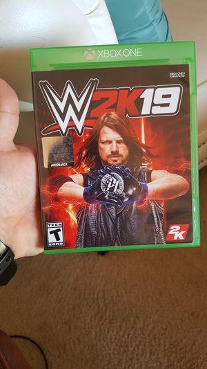 WWE2K19 for Sale in Ashburn, VA