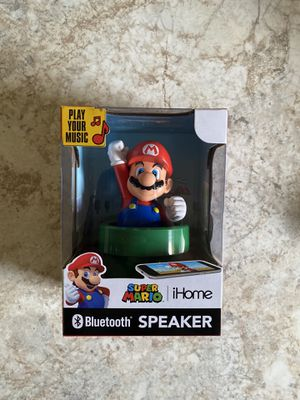 Super Mario iHome Bluetooth Speaker - RARE for Sale in Salem, OH