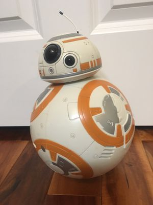 Disney Store BB-8 Rolling Talking 9 1/2'' Figure - Star Wars: The Force Awakens for Sale in Kirkland, WA