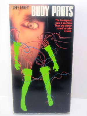 Body Parts VHS Horror for Sale in Garland, TX