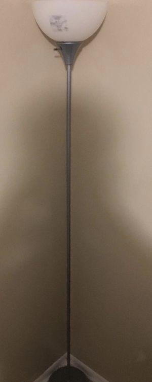 Grey floor lamp for Sale in Orlando, FL