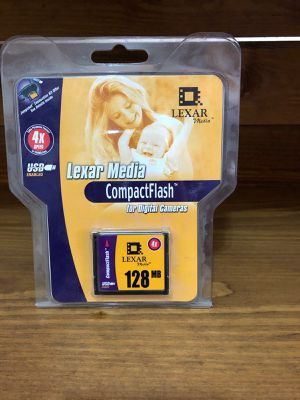 Lexar Compactflash Card 128mb for Sale in Las Vegas, NV