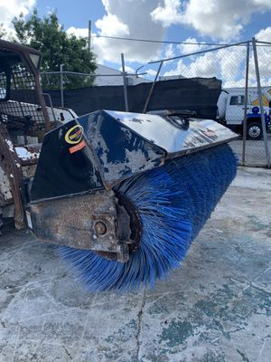 2017 Quick Attach Skid Steer Quick Sweep Power Angle Broom for Sale in Miami, FL