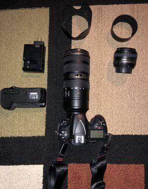 Nikon D810 Package for Sale in Seattle, WA