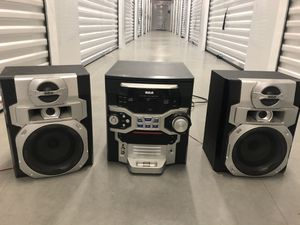 RCA stereo system for Sale in St. Petersburg, FL
