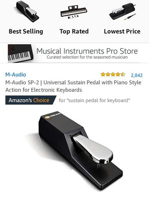 M-Audio SP-2 | Universal Sustain Pedal for Sale in Hannibal, MO