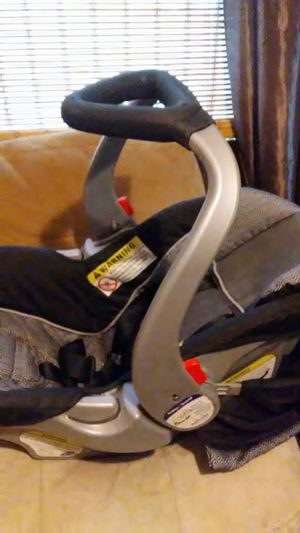 Baby car seat with base and stroller for Sale in Wichita, KS