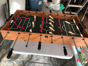 Fooseball/air hockey reversible table for Sale in South Attleboro, MA