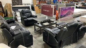 Living Room Recliner Set Brand New Finance Available!!!! No credit needed for Sale in Houston, TX
