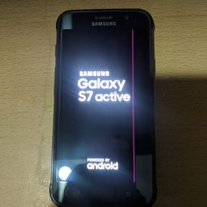 Samsung Galaxy S7 Active Unlocked Has Pink Lines Going Thru Screen for Sale in San Diego, CA