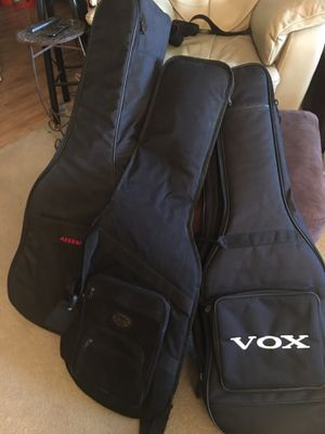 Guitar gig bags! for Sale in Houston, TX