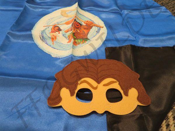 Moana Cape and Mask Set