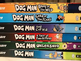 Dog Man Series 1-6 for Sale in Portland,  OR