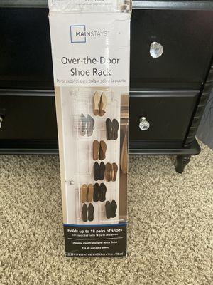 Over the door shoe rack for Sale in Carrollton, TX