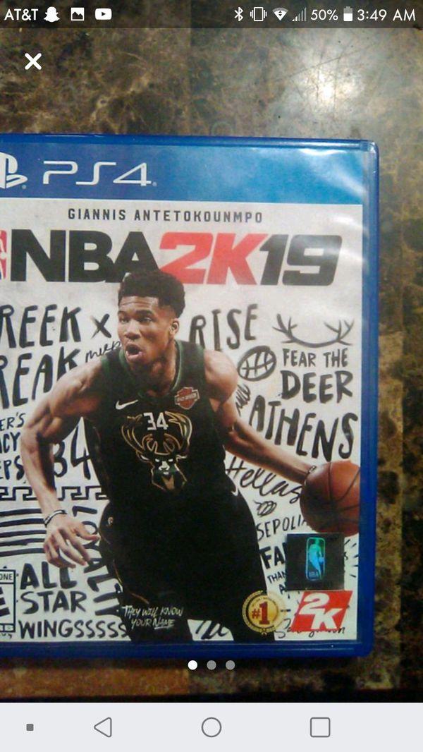 PES '18; NBA 2K19