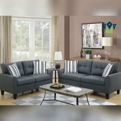 2-Pcs Living Room Set. SPECIAL OFFER. $53 DOWN PAYMENT for Sale in Orlando,  FL