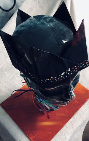 Crown, 👑 tiara, party crown, wearable art_ surrealism, pointillism-mountains for Sale in Spokane, WA