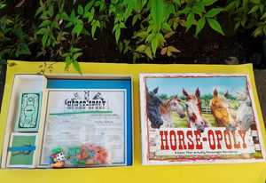 Horseopoly Board Game for Sale in Lacey, WA