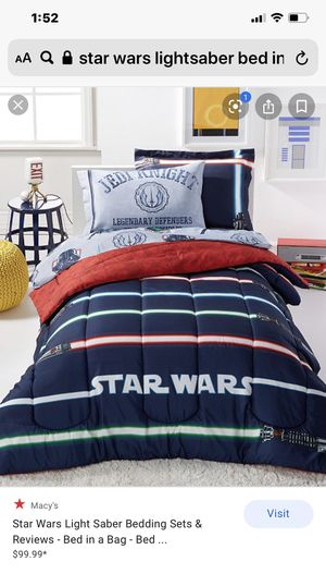 Star Wars bedding- full size 2 matching sets (check out other postings) for Sale in Everett, WA