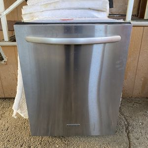 Kitchen aid Stainless Dishwasher Works Great for Sale in Moreno Valley, CA