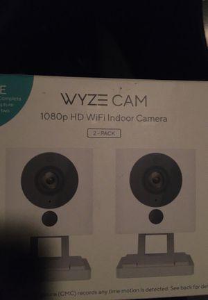 Wyze cam 1080p HD Indoor camara (2pack) for Sale in La Mirada, CA