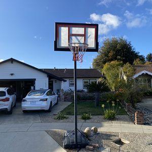 Adjustable Basketball Hoop for Sale in San Jose, CA